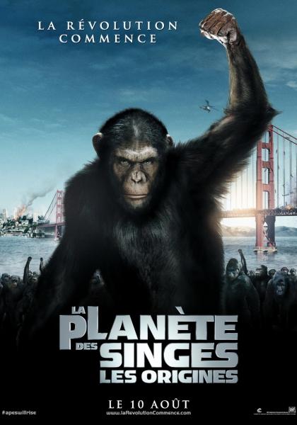 La Planète des singes : les origines (2011)